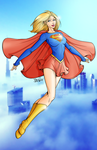 Supergirl Coloring by xaide89