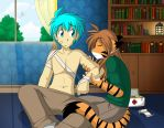 A Healing Lick by Twokinds