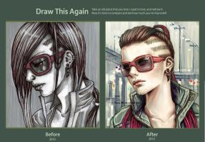 Draw this again contest by mikovera