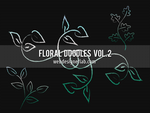 Floral Doodles Brushes (Vol. 2) by xara24