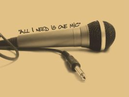 One Mic by TheCadaverousMob