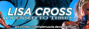 Lisa Cross - Licensed to Thrill Banner by areaorion