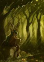 A Moment Alone by Timidemerald