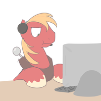 Big Mac being confused by Skype by Perrydotto