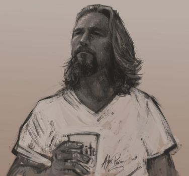 The Dude by AlexRuizArt