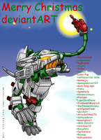 Merry Christmas deviantART by GhostLiger