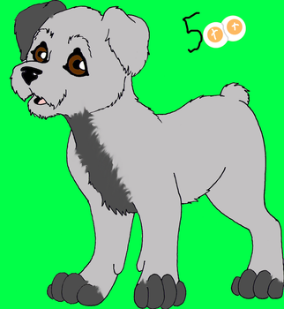 Puppy adoptable *Remake 1* by CaelynTheHedgehog13