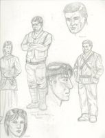 Moisture Farmers Tale Sketches by MasterofDisaster88