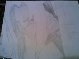 Sakura Haruno Sketch 2014 by HeartStealingSixx