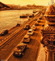 HDR Budapest Sepia by jdesigns79