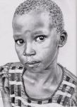 Afrika by herfairytale by PortraitPencilArt