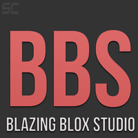 Blazing Blox Studio Logo Submission by ShadyCoder