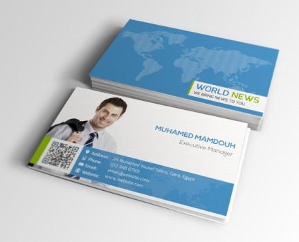 Elegant Business Card by flash-infinity