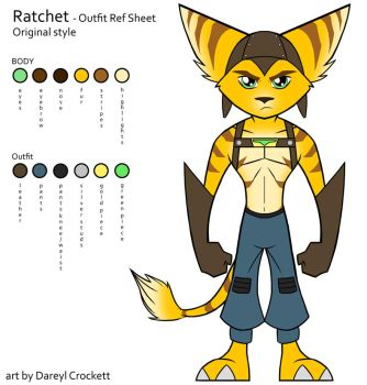 Ratchet Style Ref - Outfit 1 by ideallyRANDOM