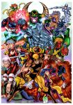 X-Men WildC.A.T.s colored by SpiderGuile
