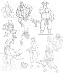 early 2013 sketches by HolyMane