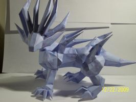 Sand mongulle papercraft by Draco3013