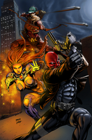 RedHood and the Outlaws! - BA COLOR BATTLE 15 by Heri-Shinato