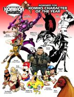 KA 09 Nominees: Best Character by komikon