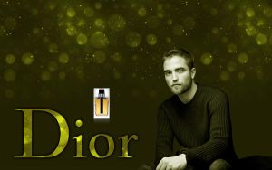 Our DIOR Homme  Robert Pattinson - wallpaper by Maysa2010
