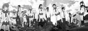 Soul Eater: spartoi black and white by deathdreamer102