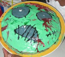Halloween cake 2010 by Geminijade2