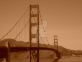 Golden Gate Bridge by eskici