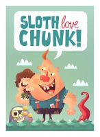 Sloth Love Chunk by MattKaufenberg