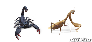Species in After Reset RPG: Insects. by blackcloudstudios