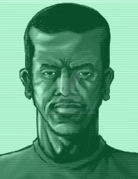 KORRUPT RONIN METAL GEAR SOLID CODEC portrait by xASHLERx