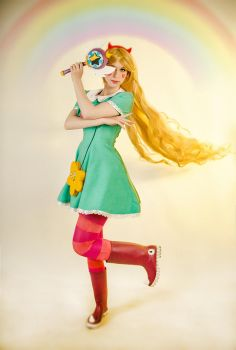 Star Butterfly (Star vs. Forces of Evil) by Meviriel