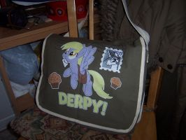 Derpy Hooves Messenger Bag by pizzalover53