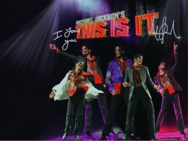 MJ This Is It by mercuryZ