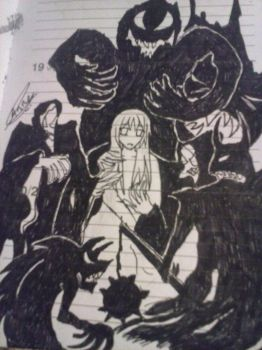 Diary Doodle: Dark Spawns by AwesomePirate
