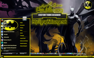 Batman Windows 7 Theme by pauliewog260