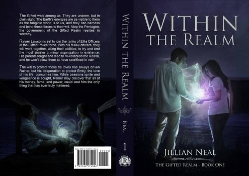 Within the Realm - book cover by LuneBleu