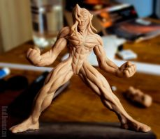 Ciril Nahash Figurine WIP by Kintall