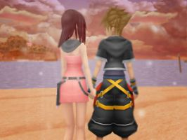 Valenties Sora x Kairi by Sleepinginwonderland
