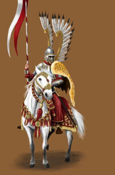 Polish Winged Hussar by ThaneBobo