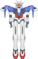 GN-0000 00 Gundam by ironscythe