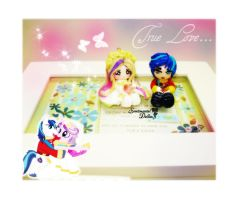 Shining Armor and Princess Cadance Charms by SentimentalDolliez