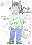 Character Info (1/4) : Donte Johnson by WolfShepsky