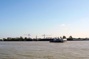 Mississippi River Ferry by cynstock