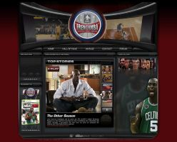 Webdesign Site Frenchnba v.1 by JFDC