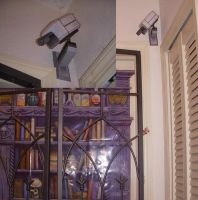Security Cam Papercraft by rideaseeker629
