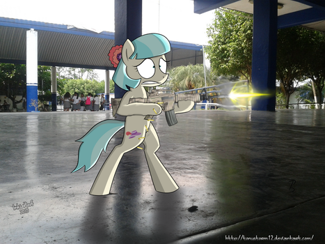 [IRL] Coco Pomel for School guard by TonyStorm12