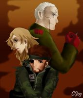 Metal Gear Solid 3 - Character by CelesJessa