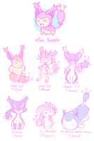 Skitty - Cross Breed Meme by azulila