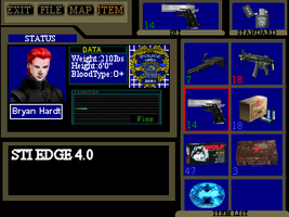 Resident Evil Item Screen by wolfwarrior001