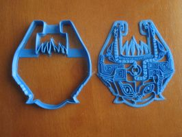 Midna Cookie Cutter + Press by B2Squared